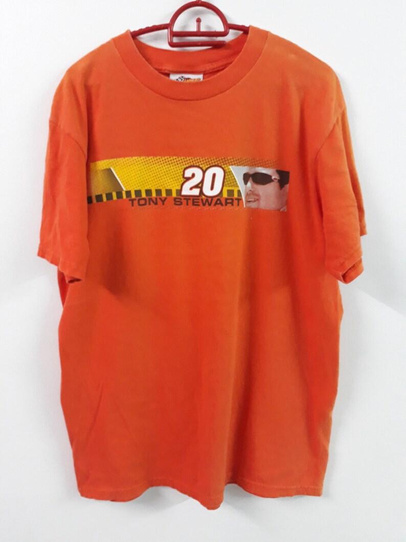 1390e407b5c Vtg Tony Stewart Home Depot 20 NASCAR T-Shirt winner circle
