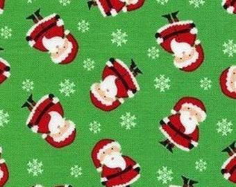 d60ea84f87efb Mini Santa Green Christmas TIE BACK Surgical Cap