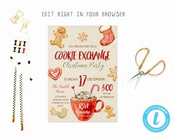 Cookie swap invite | Etsy