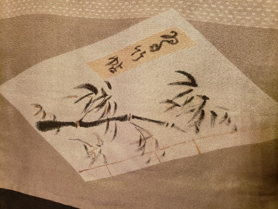 Authentic Vintage Japanese Men's Silk Haori - image 6