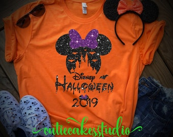 Disney Halloween Shirts 2019.Scary Party Etsy