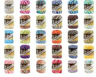 Lily Sugar'n Cream Yarn - Ombres multiple colors