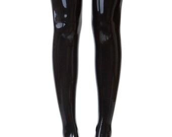 a2cae6c6d9f Black latex stockings