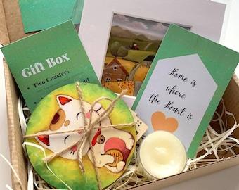 Housewarming Art Gift Box, New Home Gift Box