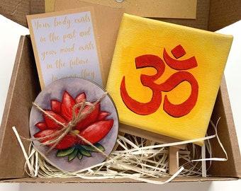 Yoga Lovers Art Gift Box, Joga Gift Box