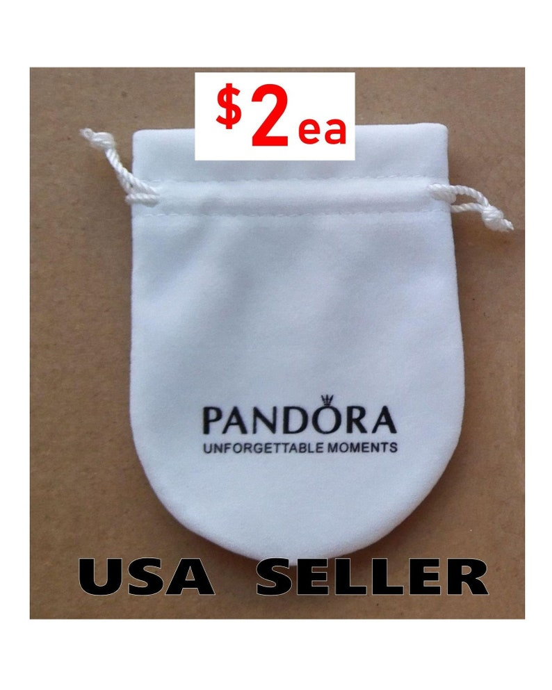 be9adc919cd6 Wholesale Lot of 100 Pandora Anti Tarnish Gift Pouches for