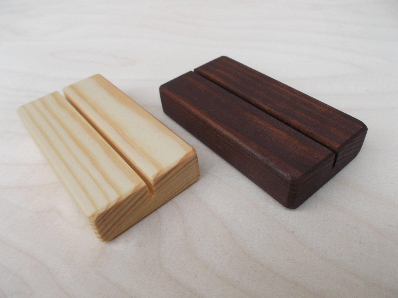 30 Holz Tischkartenhalter Tischkartenhalter Tabelle Anzahl | Etsy