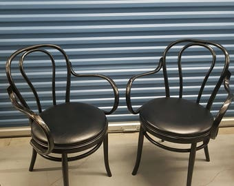 Thonet Bentwood arm chairs
