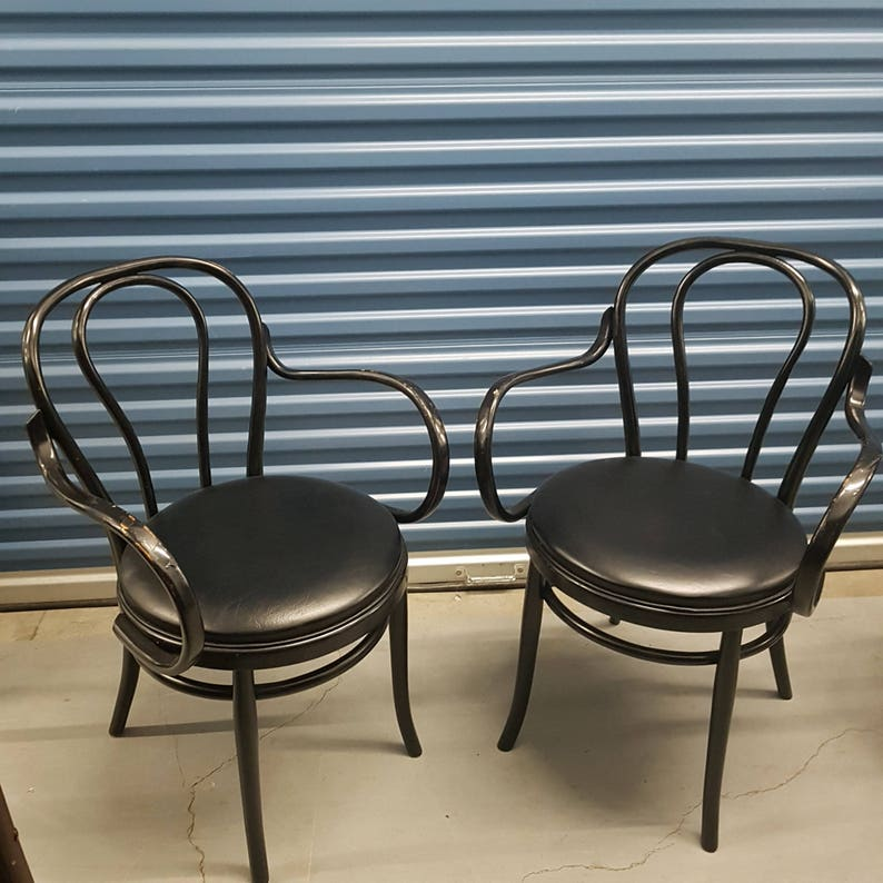 Beau Thonet Bentwood Arm Chairs