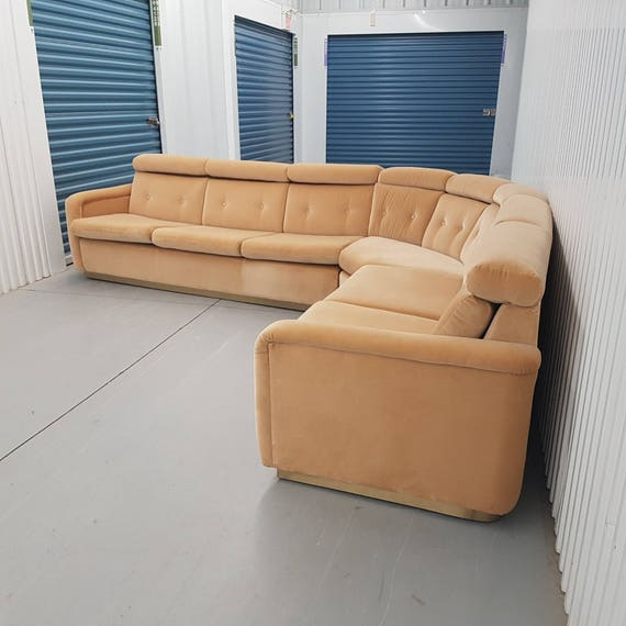 Fine Milo Baughman Sectional Sofa And Arms Chairs Evergreenethics Interior Chair Design Evergreenethicsorg