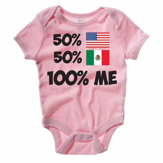 Funny Baby Gift Idea Father/'s Day Gift 100/% Cotton 50 American 50 South African Funny Baby Grow  Baby Vest