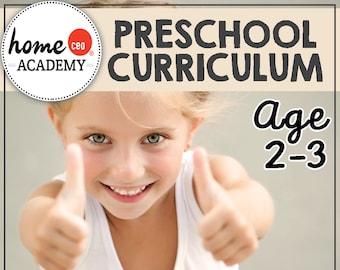 Full Year Totschool Preschool Curriculum Bundle
