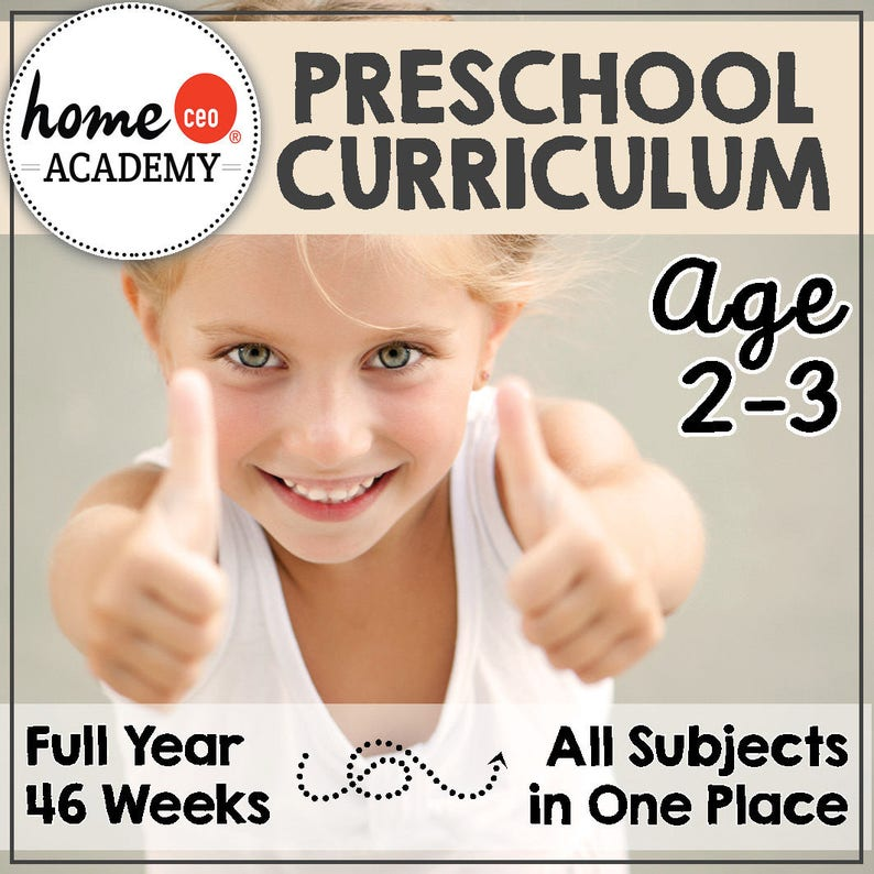 Full Year Totschool Preschool Curriculum Bundle image 0