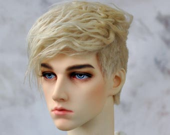 "BJD wig - Modern cut - 6-7"", 7-8"", 8-9"", 9-10"" faux fur"