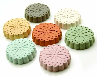 Clay Diffuser | Okinawa Clay Pebble for Essential Oil | Okinawa Flower | available in 7 color