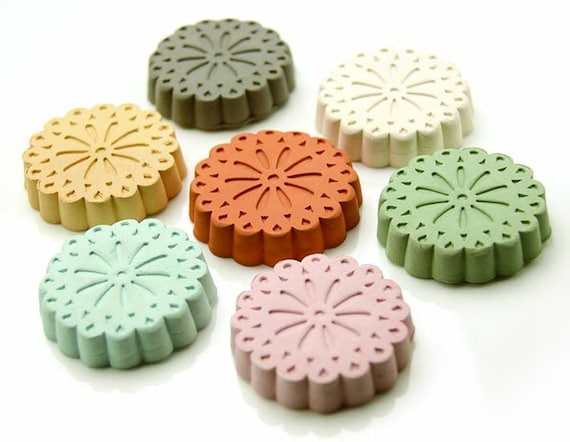 Clay Diffuser   Okinawa Clay Pebble for Essential Oil   Okinawa Flower   available in 7 color