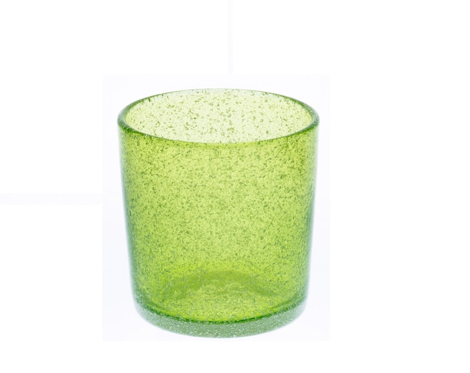 Okinawa Glass | Glass with Bubbles | Short