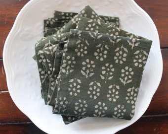 Environmentally Friendly by CHOW with ME Set of 12 Anthropology Inspired Cloth Napkins