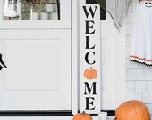 Welcome - Fall Decor - Autumn Decor - Thanksgiving - Halloween - Harvest - Farmhouse Style - Pumpkin