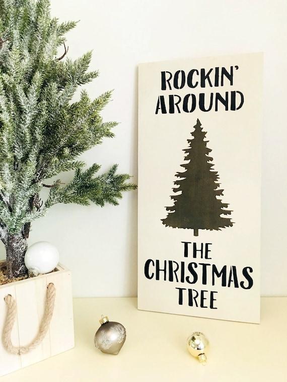 Rockin Around The Christmas Tree Rocking Around Christmas Etsy