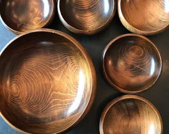Enesco Wooden bowls