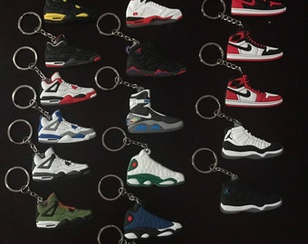 293587bca5ddf1 Calling All Sneaker LOVERS!! - 2D MINI Sneaker Keychain - Show off your  favorite! -  Buy 3+   Free Ship