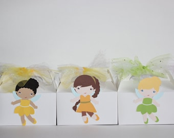 Tinkerbell and Friends Favor Boxes