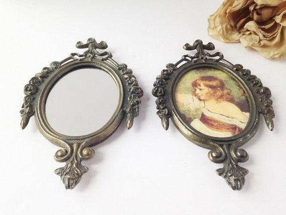 Ornate Frames with Mirror and Image / Vintage Frames / Ornate Frames ...