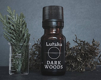 DARKWOODS Essential Oil Blend - Enchanted Forest - Magical Forest - Woodsy Essential Oil - Forest Essential Oil Blend - Forest Bathing