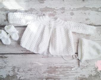 4e9303c5036 Baby knitwear set