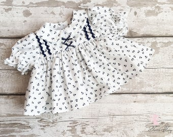 72d1ec195 Nautical baby dress