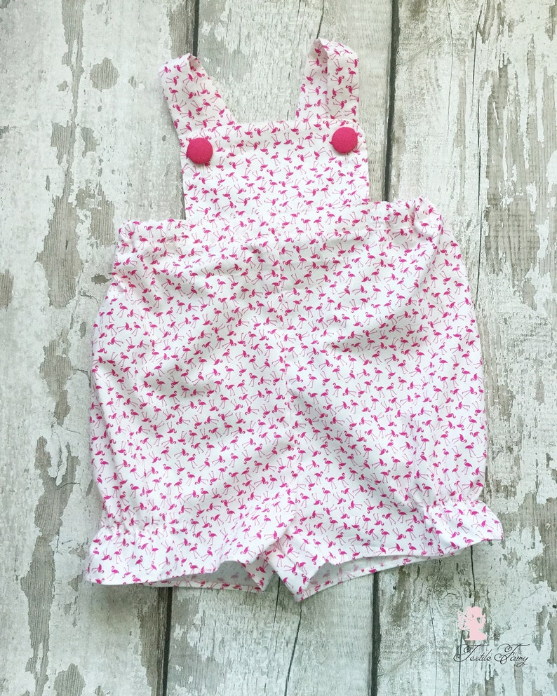 81cd51986 Baby romper Baby dungarees Summer outfit Toddler romper