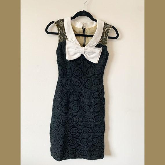 50's-60's Eyelet Lace Dress
