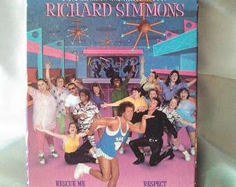 Collectible Vintage 1990 Richard Simmons Sweatin' To The Oldies 2 VHS Tape