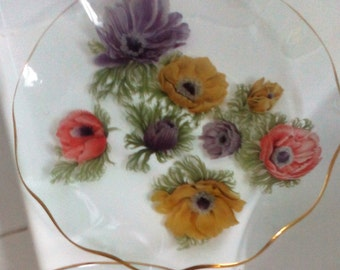 Vintage Pair Chance Serving Plates - Unbreakable