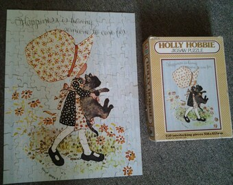 1970's Holly Hobbie Jigsaw Puzzle - 150 Pieces