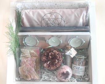 2017 Winter Spa-Liday Holiday Gift Box. Pampering Self Care  Artisan Gift