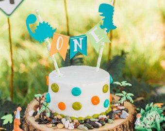 Fabulous Dinosaur Cake Topper Etsy Funny Birthday Cards Online Eattedamsfinfo
