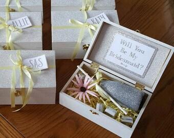 Sparkling Bridesmaid Box | Sparkling Gift Box | Bridesmaid Proposal Box | Bridal Party Gift Box | Maid of Honor Gift Box