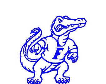 Gator Decal Etsy