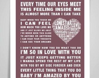 BEN HOWARD Keep Your Head Up Music Love Song Lyrics Wall Art