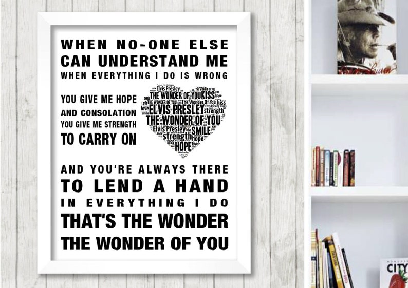 If You/'re Not The One Grey Heart Song Lyric Quote Print