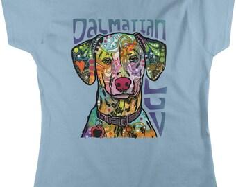 79da49877 Dalmatian Luv, Love my Dalmatian Women's T-shirt, NOFO_01039