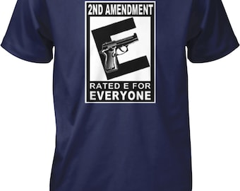 2nd Amendment Rated For Everyone, Right to Bear Arms Men's T-shirt, NOFO_00256