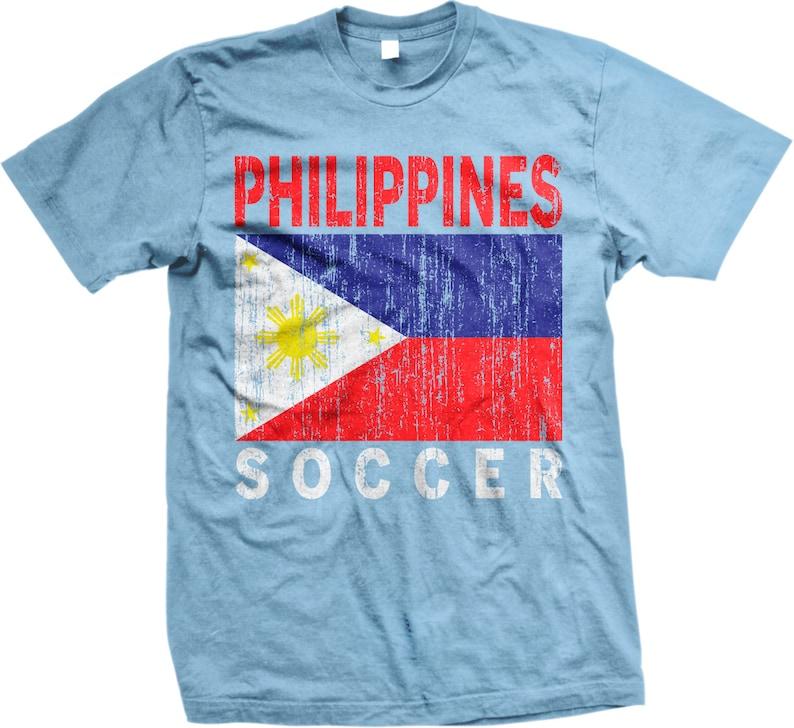 f440ba9f6 Philippines Soccer Filipino Football Flag Men s T-shirt
