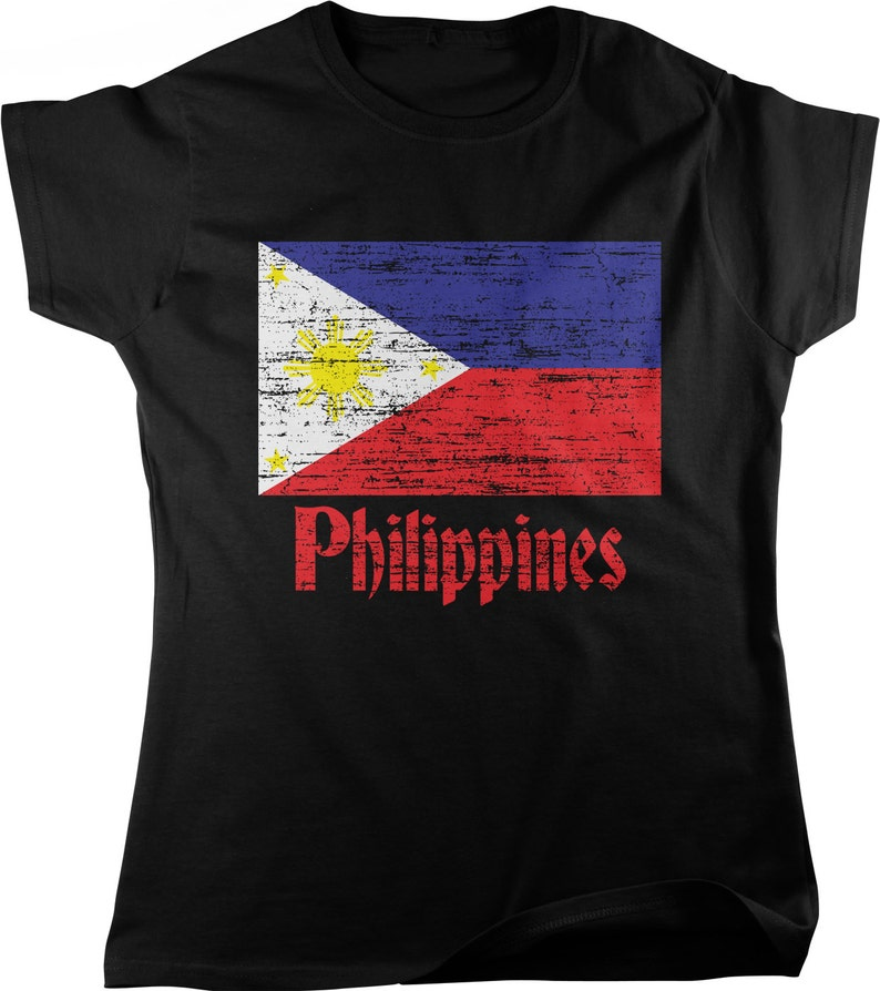 f268db422 Flag of the Philippines Filipino Flag Women s T-shirt