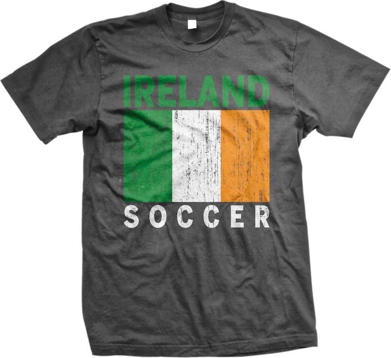 e1cb5de1d Ireland Soccer Irish Football Flag EIRE Men's T-shirt   Etsy