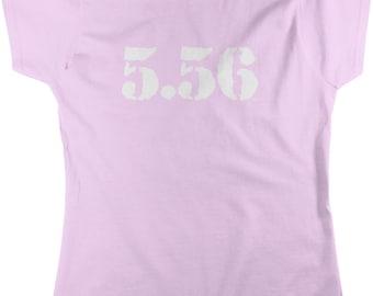5.56, Firearm Enthusiast Women's T-shirt, NOFO_00906