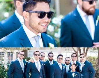 Wedding Party Sunglasses Set of 6, Groom Sunglasses, Best Man Sunglasses, Groomsmen Sunglasses, Groomsman Gift, Wedding Sunglasses
