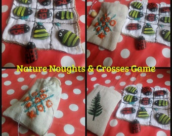 Nature Noughts & Crosses Game